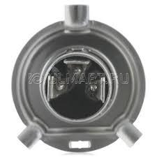 <b>Лампа</b> автомобильная <b>PHILIPS</b> H4 12V- 60/55W (P43t) (+150 ...