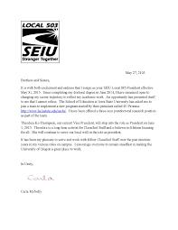 union resignation letter resignation letter union resignation resignation letter president 2015