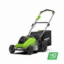 <b>Газонокосилка Greenworks GD40LM45</b> 40V 2500407 (45 см ...