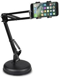 Techtest Metal Long Arm Lazy Phone Holder Mobile Phone Flexible ...