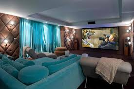 Teal Color Schemes For Living Rooms 20 Stunning Home Theater Rooms That Inspire You Decoholic