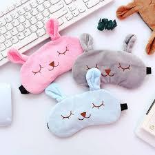 Hot Sale <b>New Arrival 1pc Cute</b> Sleeping Mask Soft Padded Sleep ...