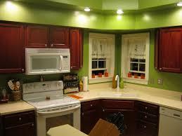 paint kitchen cabinets cherry