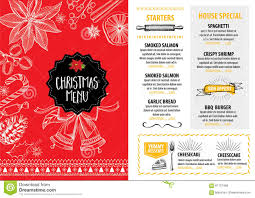 christmas party invitation restaurant food flyer stock vector christmas party invitation restaurant food flyer royalty stock photos