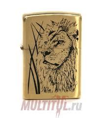 <b>Zippo</b> 204B Proud Lion — купить бензиновую <b>зажигалку</b> в ...