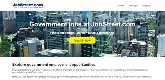 jobstreet com launches government jobs page for public service website for government jobs