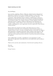 marketing cover letter sample marketing cover letter will help marketing cover letter sample marketing cover letter will help you in creating a winning cover