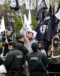 Foto: Manifestació islamista a Berlín