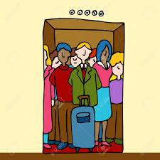 Resultado de imagen de dibujos de un ascensor