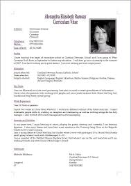 write a cv about me professional resume cover letter sample