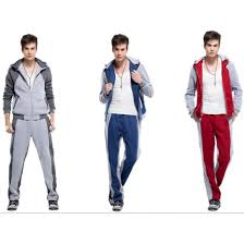 Topmall <b>Sports</b> sweater+pants long-sleeved <b>suit cotton</b> splicing ...
