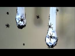 How To Make Creepy <b>Spider</b> Nest <b>Halloween Decoration</b>! - YouTube