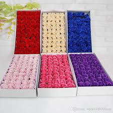 <b>50Pcs Floral Scented</b> Bath Soap Rose Flower Petals Plant Essential