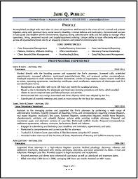 paralegal resume sample   the resume clinicparalegal resume   pg
