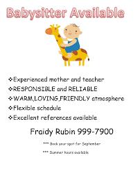 babysitter ad doc mittnastaliv tk babysitter ad