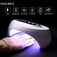 <b>36W</b> Z10 <b>UV LED</b> Nail Dryer Gel Polish Curing <b>Lamp Timer</b> USB ...