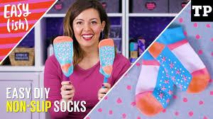 How to make DIY <b>non</b>-<b>slip socks</b>, tights, mitts + gloves   Easy(ish ...