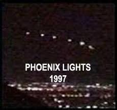 UFO Lights Over Phoenix, Arizona