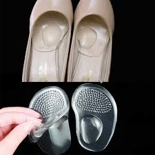 <b>1Pair High Heel</b> Shoes Front Forefoot Half Sole Pads Insert Ball ...