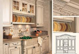 kitchen cabinets tuscan style home design
