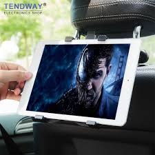 <b>Car Rear Pillow Car</b> Tablet Holder Stand For Ipad 2/3/4 Air Pro 7 11 ...