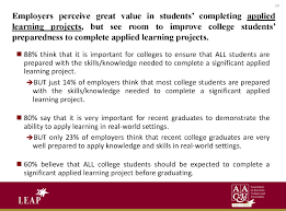 academics academic programs why applied learning university association of american colleges and universities