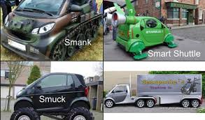 The Evolution Of The Smart Car - Meme Collection via Relatably.com