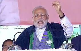 ஜக்கி வாசுதேவ் அளித்த ஷால்வையை பரிசளித்த மோடி