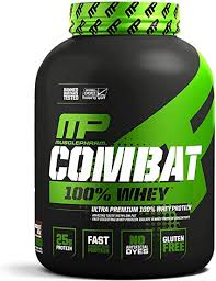 MusclePharm Combat 100% Whey, Muscle-Building ... - Amazon.com