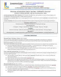 coaching resume   holidayclub executive coach resume   resume results