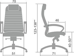 Купить эргономичное <b>кресло</b> нового поколения <b>Samurai</b> KL-1.04.