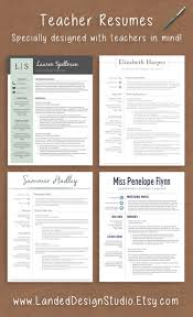 best ideas about teaching resume teacher resumes professionally designed teacher resume templates for mac pc completely transform your resume a