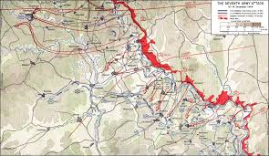 the ardennes  battle of the bulge  contents v  the seventh army attack      december