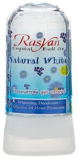 Купить <b>RASYAN дезодорант</b>, кристалл (минерал), Natural White ...