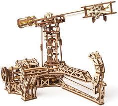 <b>Конструктор</b> 3D-пазл <b>Ugears</b> - <b>Авиатор</b>