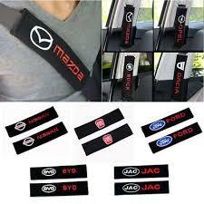 <b>2Pcs</b>/pair <b>Cotton CAR</b> Safety SEAT BELT COVER Strap Shoulder ...