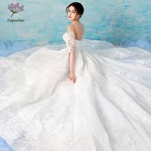 Shop <b>Cathedral Train Luxury</b> Wedding Dress - Great deals on ...
