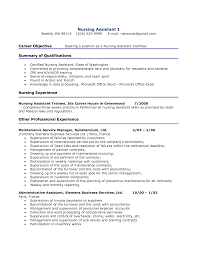 examples of nursing assistant resumes template examples of nursing assistant resumes