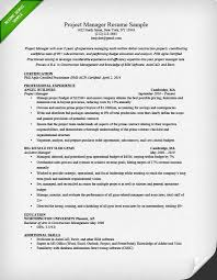 Project Manager Resume Sample  amp  Writing Guide   RG Resume Genius