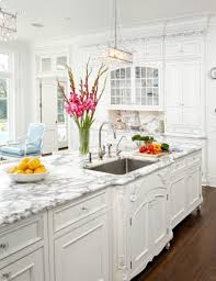 beautiful white kitchen cabinets: plain beautiful white kitchen in a small house on different kitchen