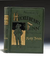 the adventures of huckleberry finn by mark twain  two views    huck finn cov
