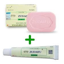 Zudaifu <b>Sulfur Soap Add</b> Skin Psoriasis Cream Dermatitis ...