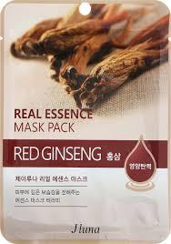 <b>Тканевая маска</b> с красным женьшенем, 25 мл, Juno — купить в ...