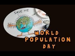 world population day cartoon   youtubeworld population day cartoon
