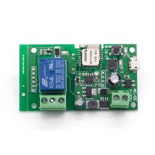 4-канальная релейная плата ESP8266, <b>модуль Wi</b>-<b>Fi</b> для <b>умного</b> ...