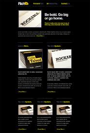 best email templates for ads s premium templates rich typography email demo