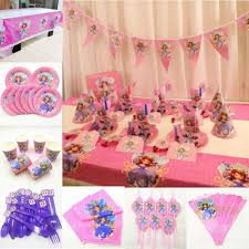 <b>Kids</b> Birthday <b>Sofia Princess</b> Party <b>Supplies</b> Decoration Tablecloth ...