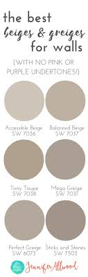 beautiful neutral paint colors living room: the best beige and greige wall paints for walls magic brush jennifer allwoods top