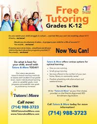 best photos of tutoring flyer template word private tutoring tutoring services flyer