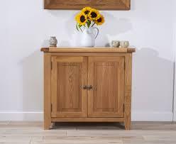 yoland 90cm oak 2 door sideboard camberley oak 2 door